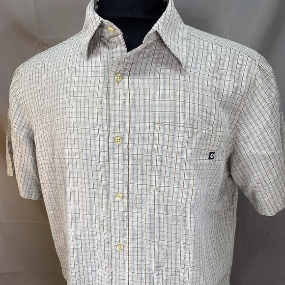 Marmot Other - MARMOT FOR LIFE Check Short Sleeve Button Down